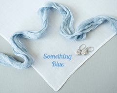Plain Hanky Something Blue