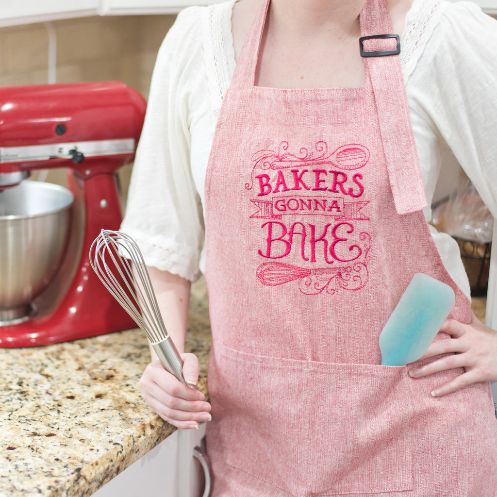 Bakers Gonna Bake Apron Womans