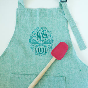 Whip It Good Farmhouse Style Apron