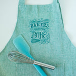 Bakers Gonna Bake Apron Green