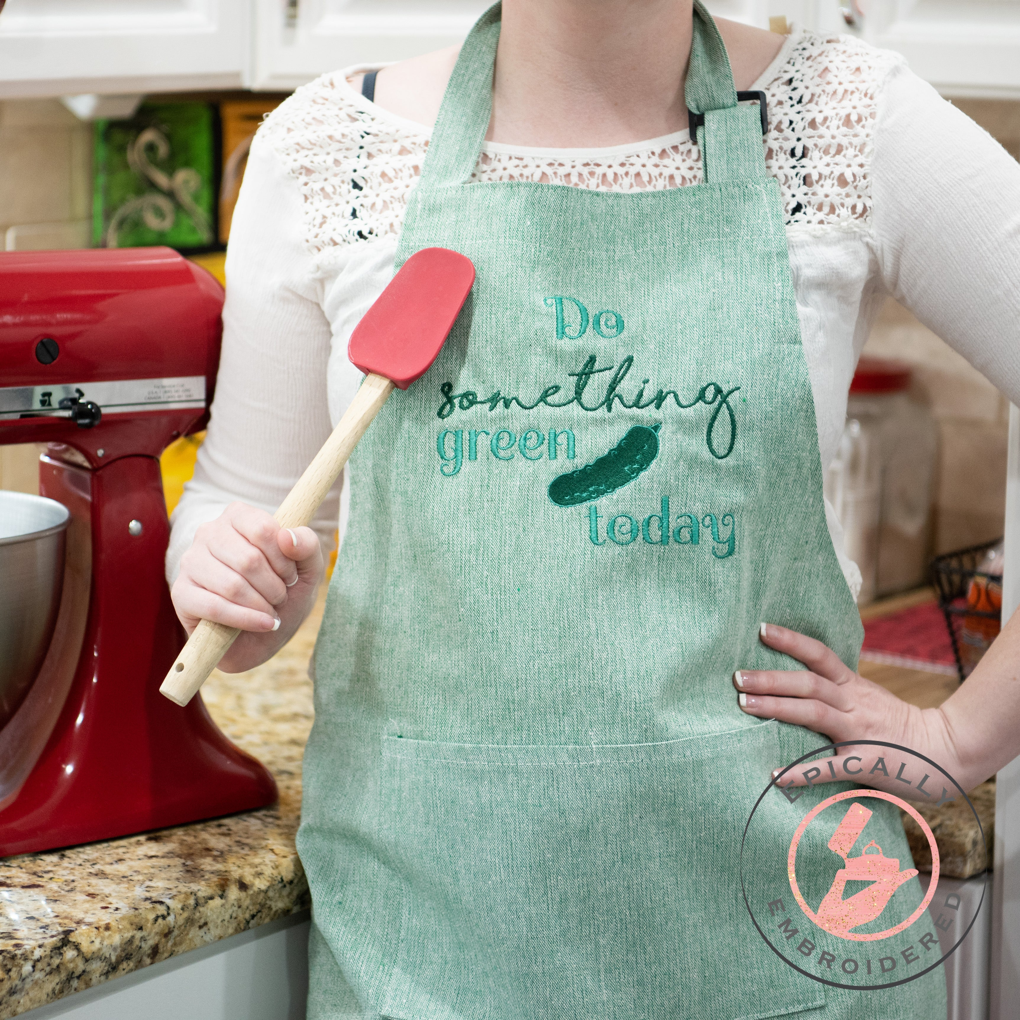Do something green today apron