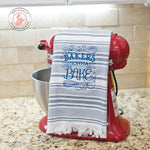 Bakers Gonna Bake Dish Towel Blue