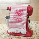 It's Getting Hot in here Dish Towel Red
