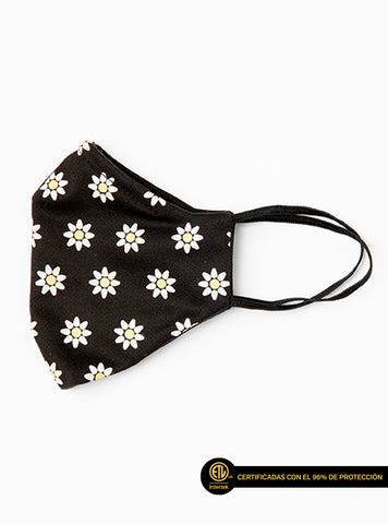 Mascarilla Unisex, Daisies Are My Must