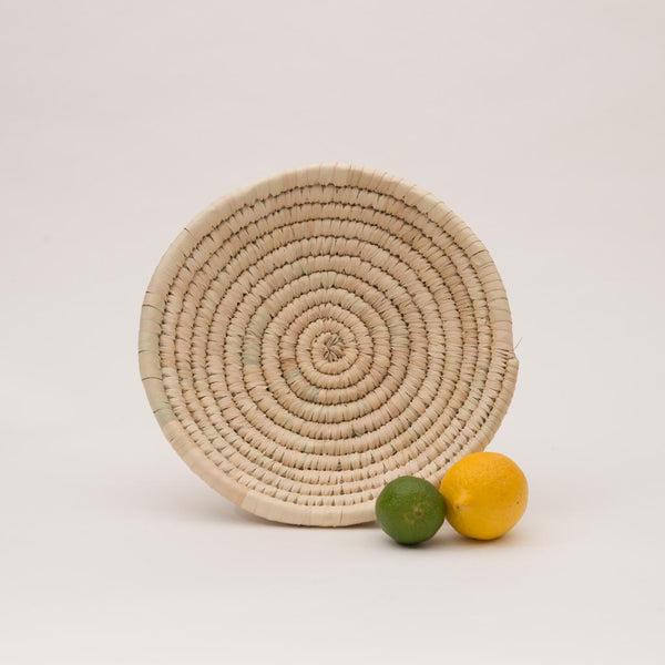 Palm Leaf Woven Plates - small