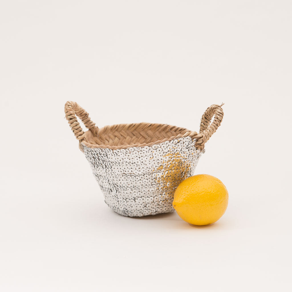Tiny Silver Basket