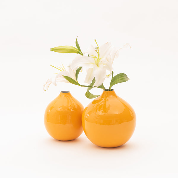 Ball Vase Set - Saffron