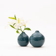 Ball Vase Set - Teal