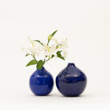 Ball Vase Set - Cobalt
