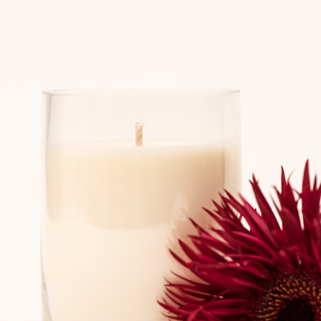 Glass Bowl  Candle- small