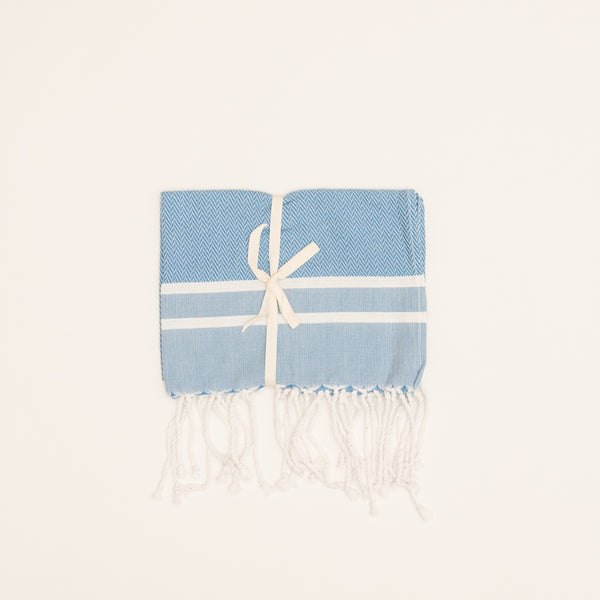 Hiba Towel - Blue