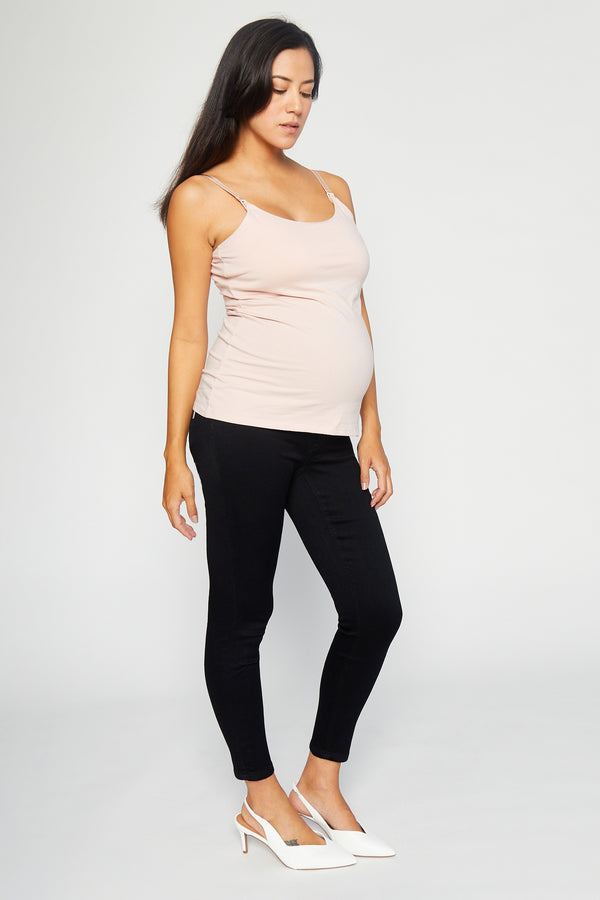 "Maternity Butter 27"" Ankle Super Skinny Women's Jegging In Wynter Black"