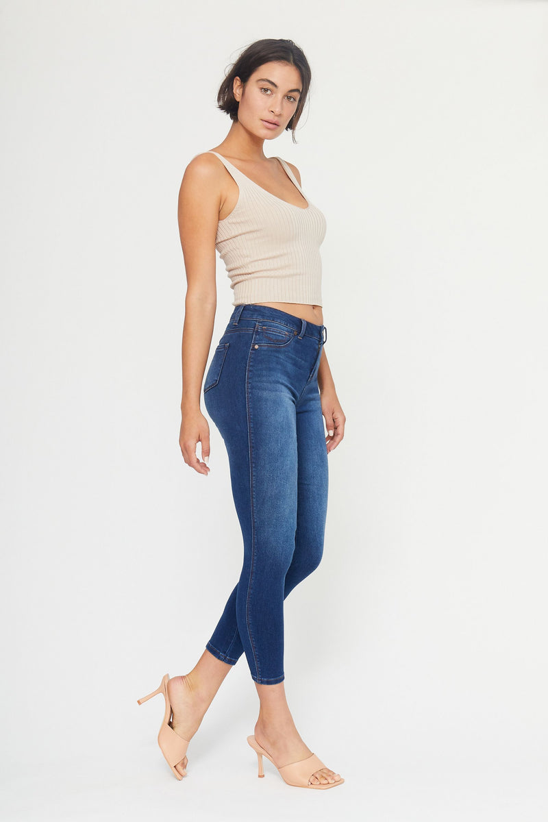 "Butter 28"" High Rise Ankle Skinny Women's Jegging In Wynter Ziggy"