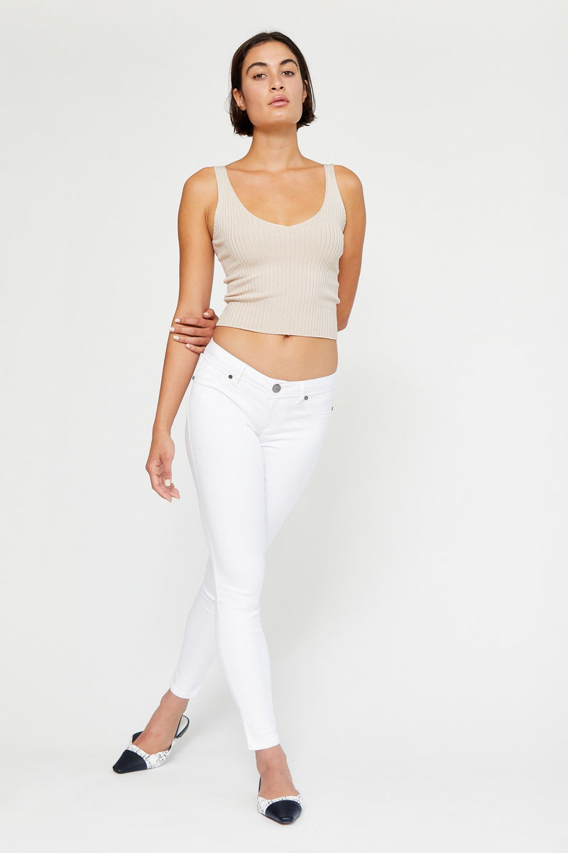 "Butter 32"" Tall Skinny Women's Jegging In Wynter White"