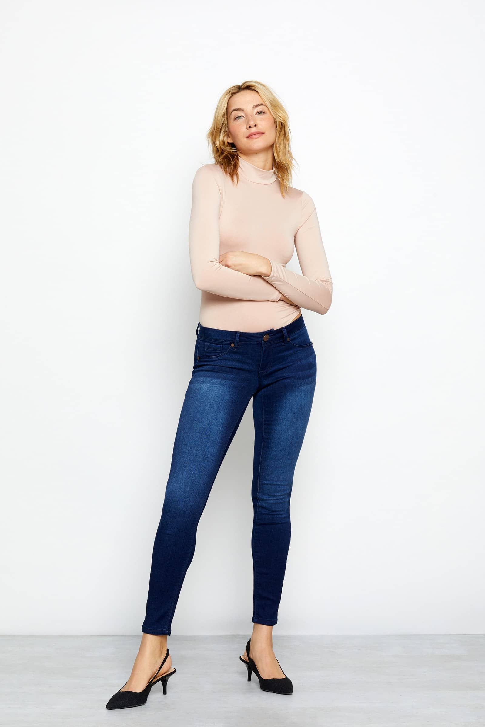 "Butter 30"" Skinny Jean In Wynter Marco"