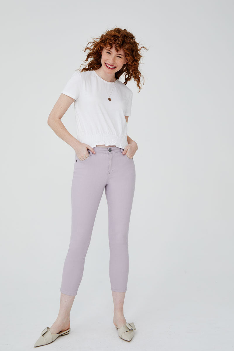 High Rise Skinny Jeans in Iris