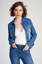 Heritage Denim Jacket In Molly
