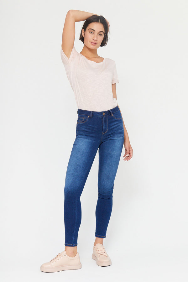 "Butter 30"" High Rise Ankle Skinny Women's Jegging In Wynter Lennox"