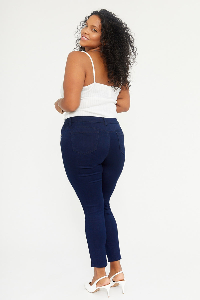 "Extra Curvy Butter 28"" Ankle Skinny Women's Jegging In Wynter Rinse"