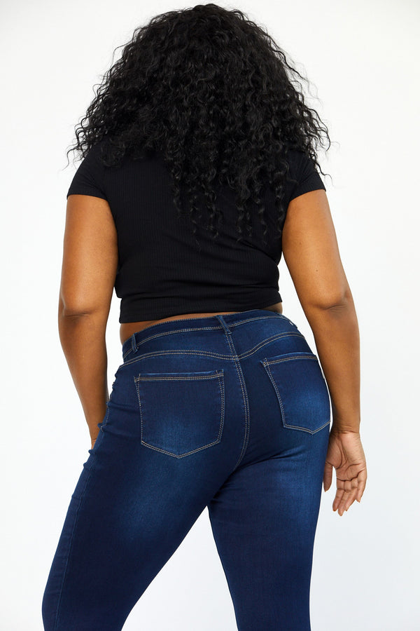 "Plus Butter 30"" High Rise Skinny in Raquel"