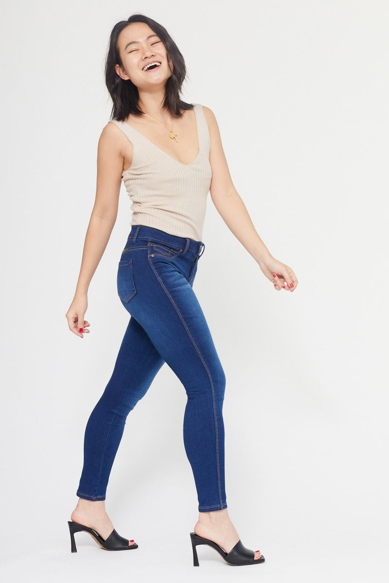 "Short Butter 26"" Ankle High Rise Skinny Women's Jegging in Wynter Lennox"