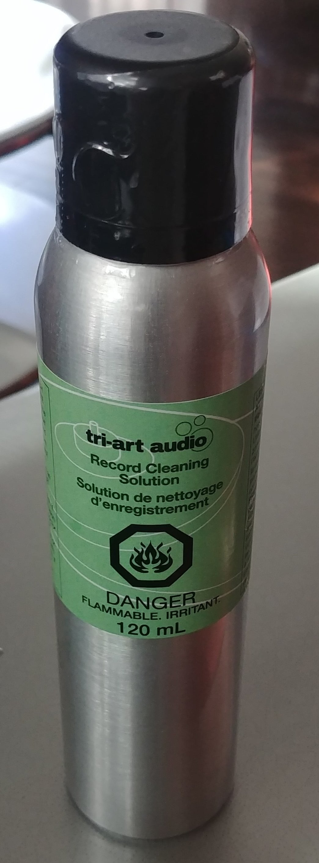 Tri-Art Audio record cleaning solution