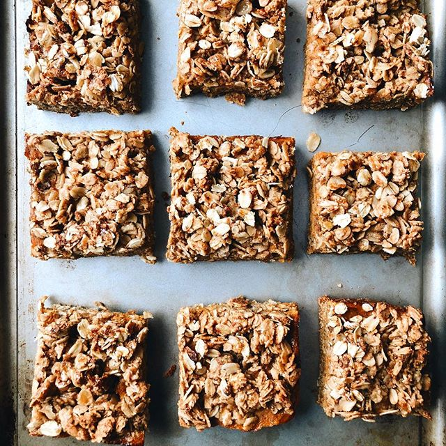 Oat Crumble Bars