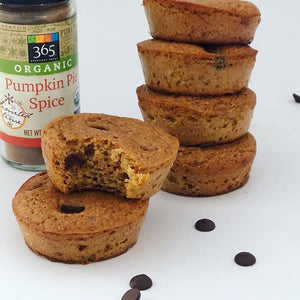 Pumpkin Spice Muffins by @mysexyveggies