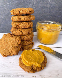Pumpkin Spice Cookies by @krystenskitchen