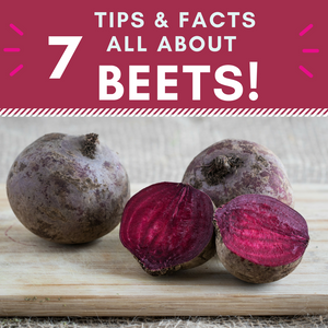 7 Tips & Facts All About Beets!