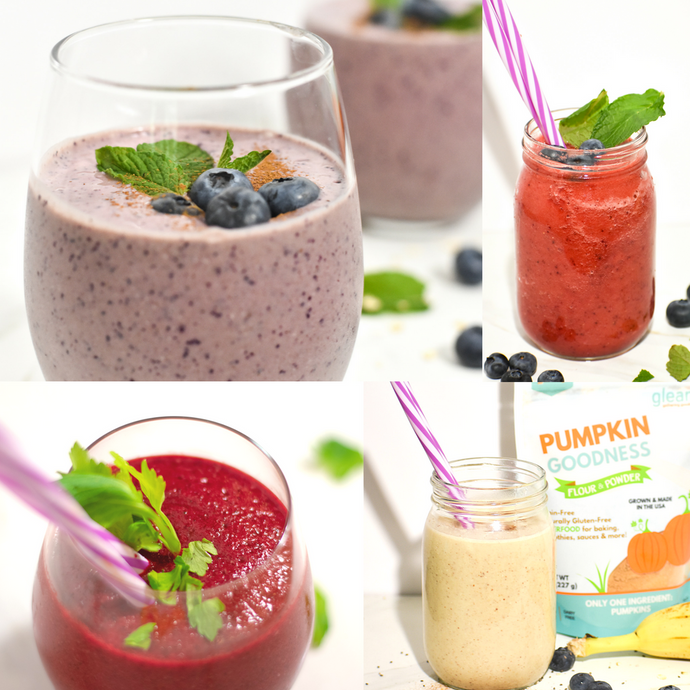 Top 4 Favorite Summertime Smoothies