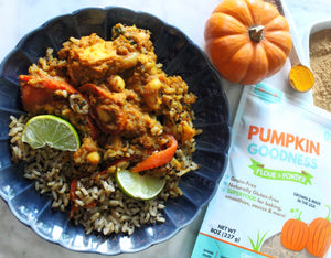 Veggie Pumpkin Curry