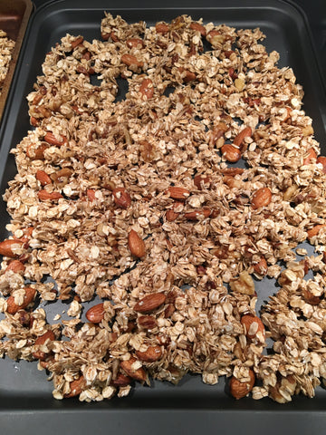 sweet potato flour granola