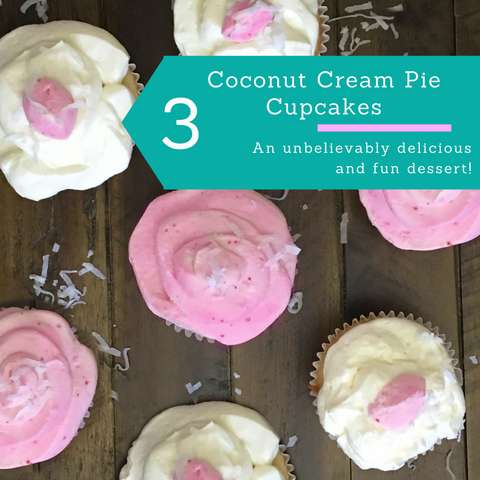 coconut cream pie cupcakes glean