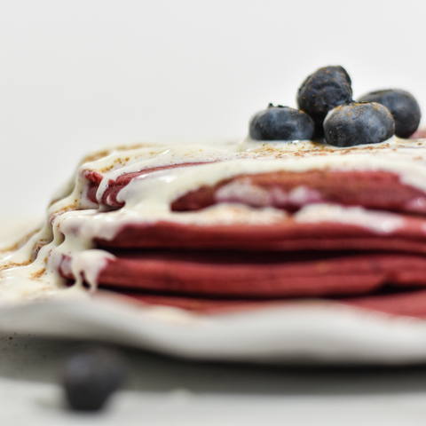 beet powder pancakes