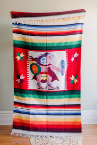 Couverture mexicaine vintage