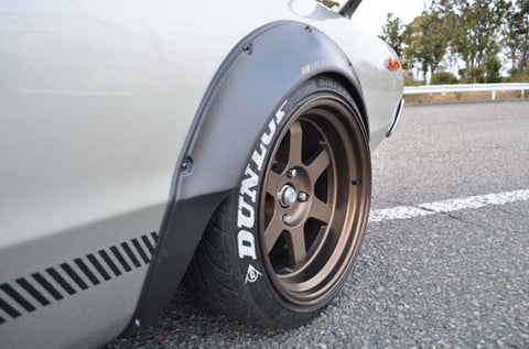 Nissan Skyline C110 (Kenmary) Front fender flares