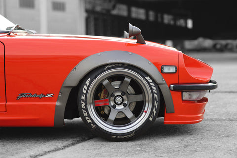 S30Z Front Fender Flares FRP Version II (for Speed Forme aero kit)