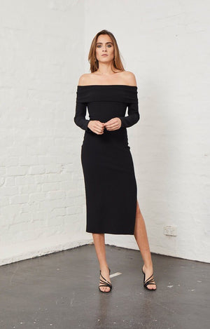Elle off shoulder dress