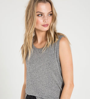 Edith tank - Heather Grey