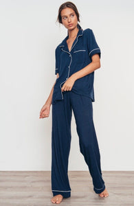Gisele short sleeve PJ set - navy
