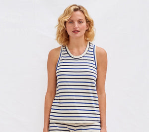 Stripes racerback tank