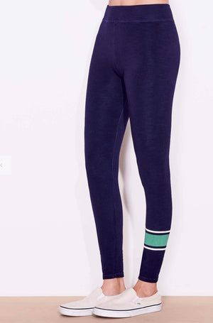 Varsity yoga pants - Royal