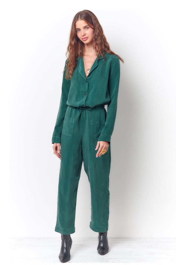 Talia jumpsuit - green