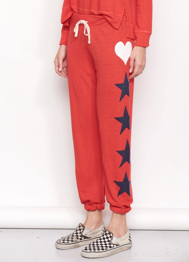 Hearts & Stars sweatpants