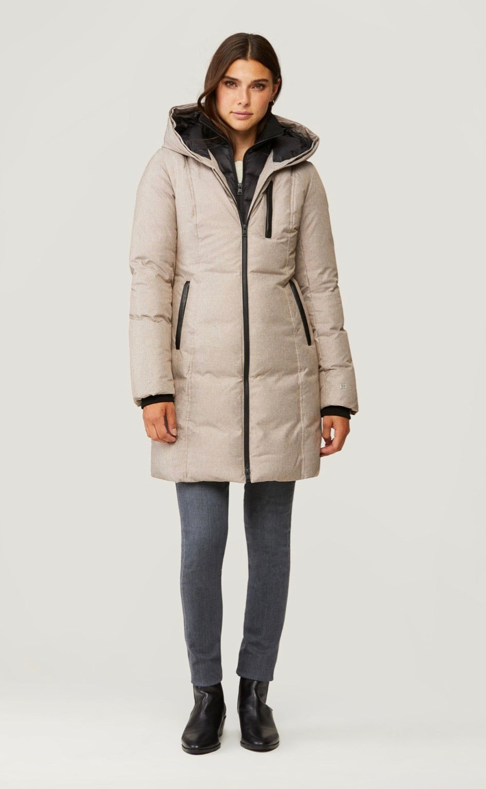 Christy down jacket - fawn