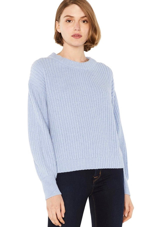 Jamison sweater - misty blue