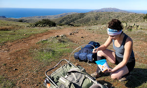 going stoveless on backpacking trip