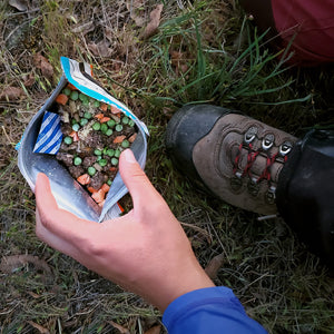 freeze dried backcountry meal