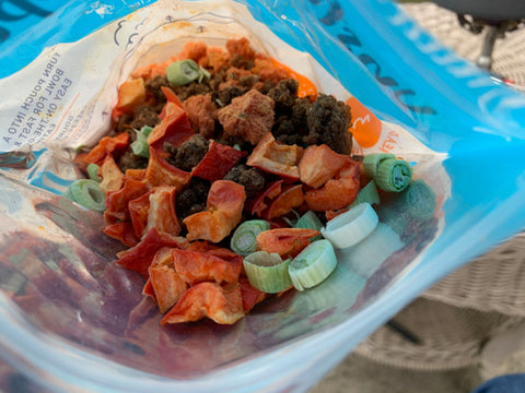 backpacking freeze dried food
